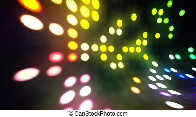 Disco lights scene loop