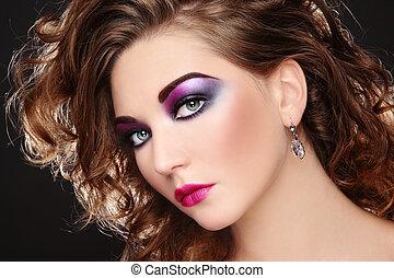 disco, maquillage