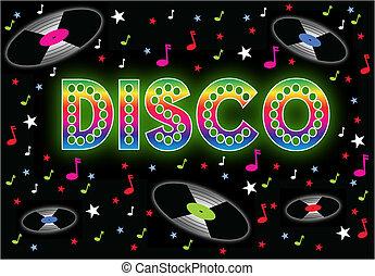 disco, meldingsbord
