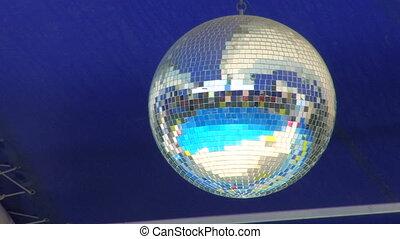 Disco Mirror Ball, closeup
