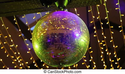 Disco Mirror Ball Lights