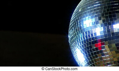 disco mirror ball right side
