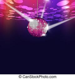 Disco Music Color Ball