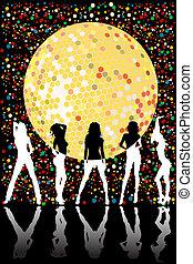 Disco party design