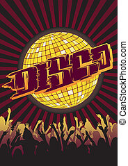 Disco Party Flyer Graffiti - Design for your party or disco...