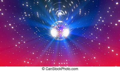 disco piłka, tło