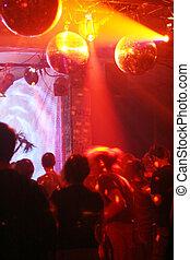 Disco - Dancing in a disco