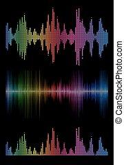 music sound waves