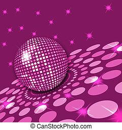 disco, rose