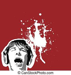 Disco scream