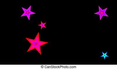 disco stars spinning loop