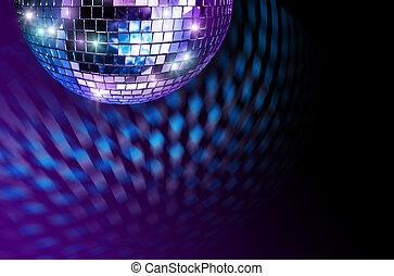 disco, tükör labda