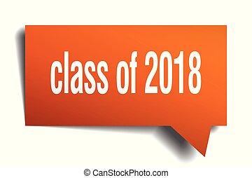 discorso, 2018, arancia, bolla, classe, 3d