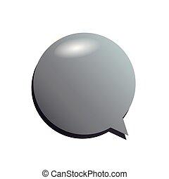 discorso, messaggio, bolla, icona