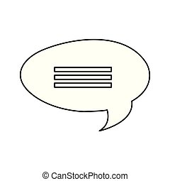 discorso, messaggio, bolla