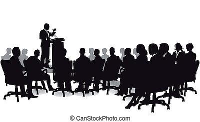 discorso, strategia