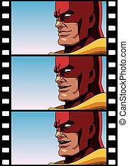 discorso, superhero