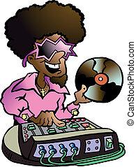 discoteca, dj