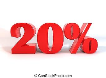 Discount 20 Percent
