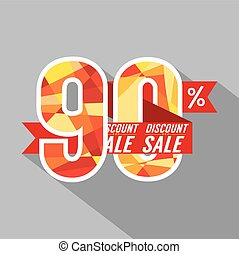 Discount 90 Percent Off.