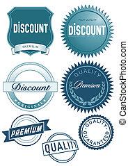 Discount button