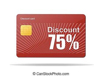 discount card sale percent