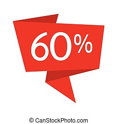 Discount icon illustration design