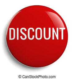 Discount Offer Red Icon