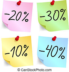 Discount on sticky note paper