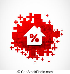 Discount Real Estate Background