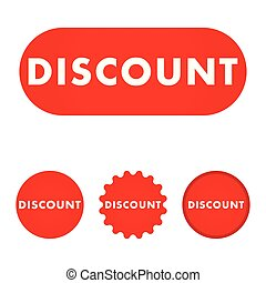 Discount red button