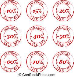 Discount Stamps Set