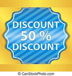 Discount Sticker
