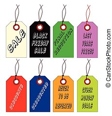 Discount Store Tags