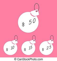 discount tag shade