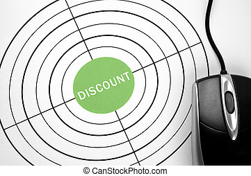 Discount target and pc mouse
