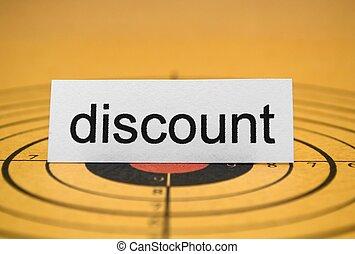 Discount target