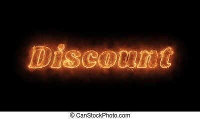 Discount Word Hot Animated Burning Realistic Fire Flame...