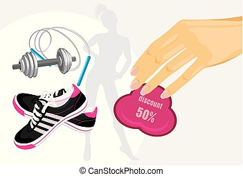 Discounts on sporting equipment