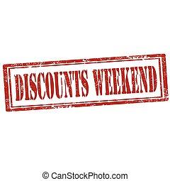 Discounts Weekend-stamp