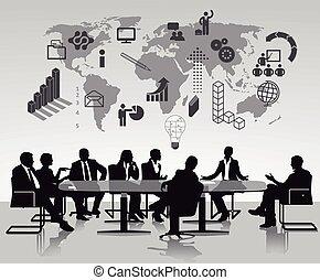 discussão, brainstorming