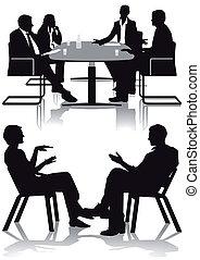 discussão, consulta