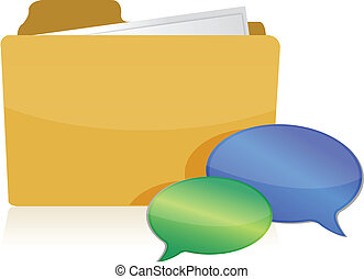 discussão, documentos, conceito