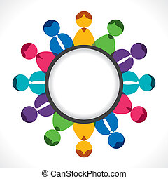 discussão, reunião, ou, pessoas