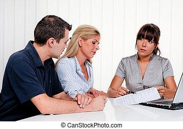 discussie, consultatie