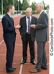 Discussing On A Racetrack -2