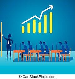 discussion, réunion, business