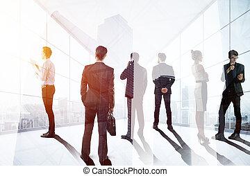 discussione, concetto, riunione