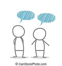 Discutere discusso dibattito persone clipart cerca for Discutere it