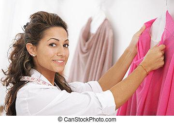 diseñador, Moda, hembra